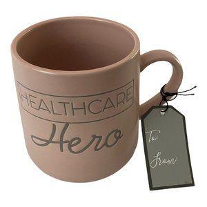 🌻 Sheffield Home Healthcare Hero Pink Gift Mug